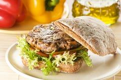гамбургер Стоковая Фотография
