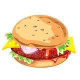 гамбургер Бесплатная Иллюстрация