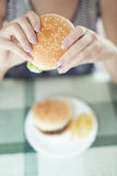 Гамбургер Стоковые Фотографии RF