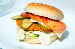 Гамбургер 3 стоковые изображения