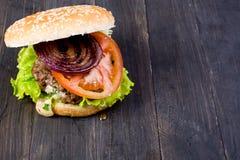 Гамбургер стоковое изображение