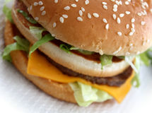 гамбургер Стоковое Изображение RF
