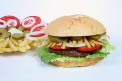 гамбургер Стоковая Фотография RF
