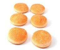 гамбургер cheeseburger плюшек Стоковые Изображения RF
