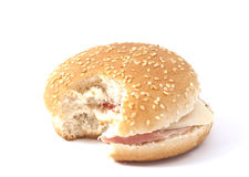 гамбургер cheeseburger Стоковые Фотографии RF
