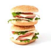 гамбургер cheeseburger Стоковая Фотография RF