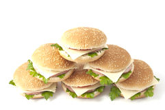 гамбургер cheeseburger Стоковое фото RF