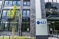 Гамбург, Германия - 15-ое июля 2017: Выпускник Hanse 10ter имеет больше чем 16500 квадратных метров, который нужно позволить Стоковые Изображения