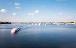 Гамбург наружное Alster Стоковое Изображение