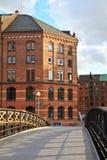 Гамбург, порт Стоковое Изображение