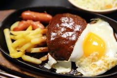 Гамбург, японский гамбургер стоковые фотографии rf
