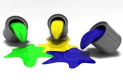 гамма цвета Стоковая Фотография RF