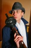 Гангстер итальянский, еврейская мафия Чикаго 1920s, лет 1930s Стоковые Фото