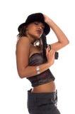 гангстер сексуальный Стоковая Фотография RF