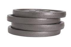 гантели дисков Стоковая Фотография RF