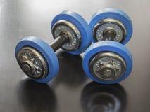 Гантели для фитнеса Стоковые Изображения RF