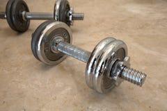 2 гантели металла Стоковое Изображение RF