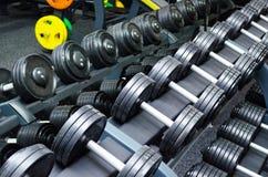 Гантели, спорт, фитнес, образ жизни, здоровье Стоковые Фото