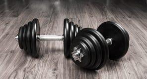Гантели для фитнеса Стоковое фото RF