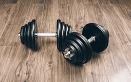 Гантели для фитнеса Стоковая Фотография