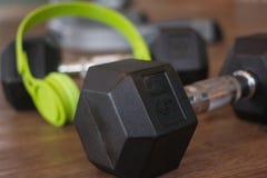 Гантели для фитнеса Стоковые Фото