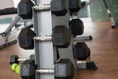 Гантели для фитнеса Стоковые Изображения