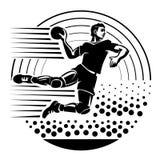 гандбол иллюстрация штока