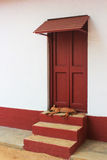 Ганди Aashram, Ахмадабад, Индия Стоковая Фотография