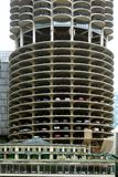 Гараж в Чикаго, Иллинойсе Стоковая Фотография RF