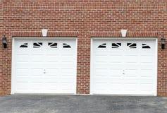 гараж дверей Стоковые Изображения RF