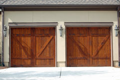 гараж дверей Стоковые Фотографии RF