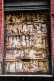 гараж двери ржавый Стоковое Фото