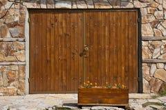 гараж двери Стоковые Фотографии RF