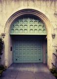 гараж двери стоковое изображение rf