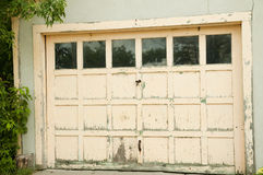 гараж двери Стоковые Изображения RF