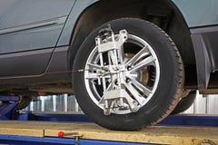 Гараж ремонта автомобиля Стоковые Фото