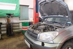 Гараж ремонта автомобиля Стоковое Изображение