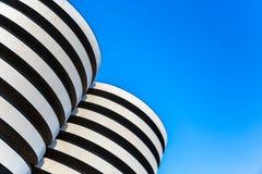 Гараж современного дизайна Стоковые Фотографии RF