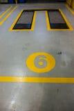 гараж стоковое изображение rf