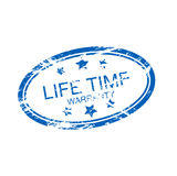 гарантия времени жизни (вектор) Стоковые Изображения RF