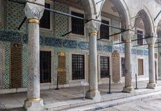 Гарем Стамбул дворца Topkapi Стоковые Изображения