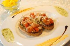 Гарнированный хлеб Стоковые Изображения RF