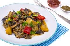 Гарнируйте различных овощей стоковое изображение