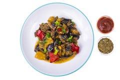 Гарнируйте различных овощей стоковое изображение rf