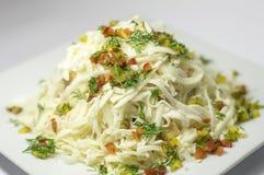 Гарнир с сыром и овощами Стоковое Изображение