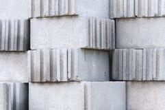 гарь кирпича блока Стоковые Фото