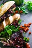 Гастроном прослаивает с овощами стоковое фото rf