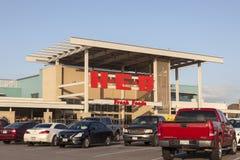 Гастроном HEB в Хьюстоне, Техасе стоковые изображения rf