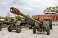 Гаубица 2A65 MSTA-B 152 mm Стоковое фото RF
