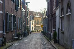 Гауда, южная Голландия/Нидерланды - 31-ое марта 2018: предыдущее утро стоковые изображения rf